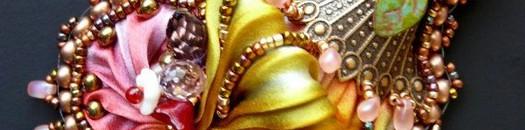 Шибори — цветной шелк