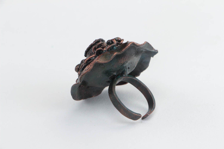 Гальваника позволяет делать такие готические кольца