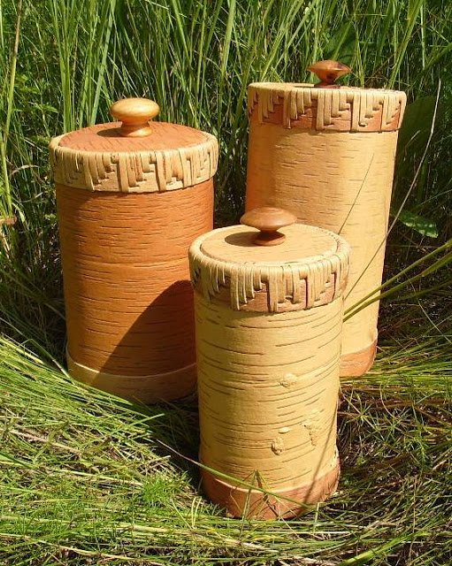 Береста и дерево — древние русские традиции в новых работах Ирины Поляковой и Владимира Рыбина