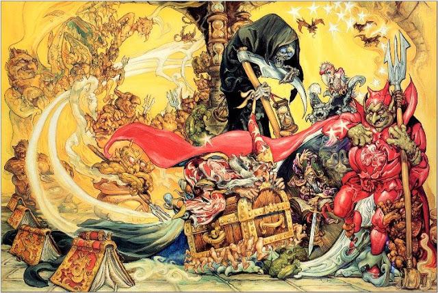 Сундучок со сказками к Новому году своими руками