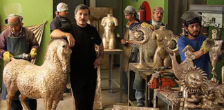 Папье-маше, керамика и ювелирка мексиканца Серджио Бустаманте (Sergio Bustamante)