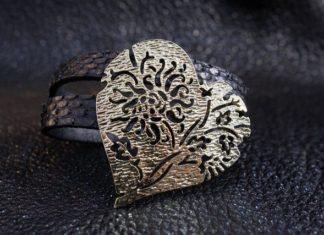 Простой браслет из кожи своими руками