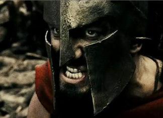 Ксеркс и Леонид — образы из «300 спартанцев»