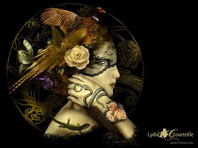 Странный и сверхъестественный мир украшений Лидии Куртейл (Lydia Courtrille)